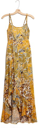 Free People Forever Yours Smocked Slipdress