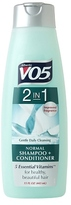 VO5 Alberto 2 in 1 Normal Shampoo + Conditioner, Gentle Daily Cleansing