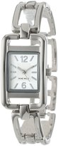 Nine West Women's NW1039SVSB -Tone Bracelet Watch