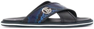 Baldinini Snake Trim Slides