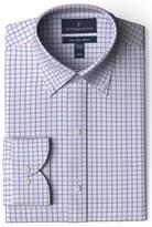 Buttoned Down Men's Slim Fit Button Collar Pattern Non-Iron Dress Shirt