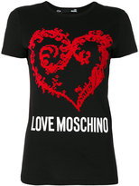 Love Moschino branded T-shirt - women - Cotton - 38