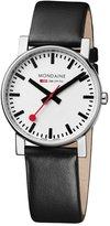 Mondaine Men's A660.30344.11SBB Evo Gents 38 Leather Band Watch