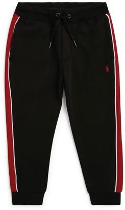 Ralph Lauren Kids Stripe Detailsweatpants (2-4 Years)