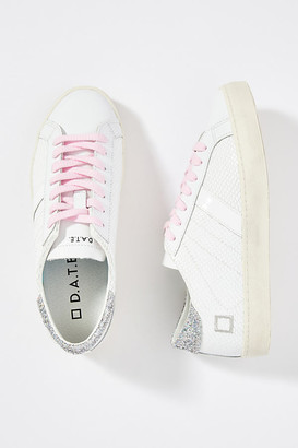 D.A.T.E Metallic Hill Sneakers By in White Size 41
