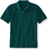 L.L. Bean Premium Double L Polo, Slightly Fitted Banded Short-Sleeve Without Pocket
