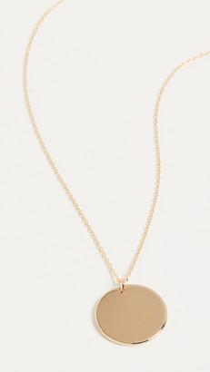 Cloverpost Circle Medallion Necklace