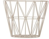 ferm LIVING Wire basket - large - grey