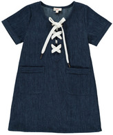 ZEF Sale - Jency Lace-Up Dress