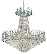 Everly Phyllida 11 - Light Unique / Statement Empire Chandelier with Crystal Accents Quinn Finish: Chrome