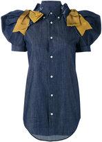 DSQUARED2 button down shirt - women - Cotton/Polyester/Spandex/Elastane/Viscose - 40