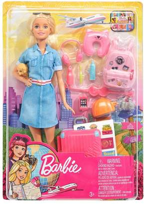 Barbie Travel Doll Playset