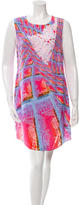 Peter Pilotto Printed Silk Shift Dress w/ Tags