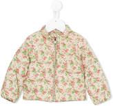 Moncler floral print padded jacket