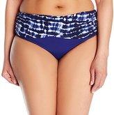 Bleu Rod Beattie Bleu | Rod Beattie Women's Plus Size I've Got You Babe Sarong Hipster Bikini Bottom