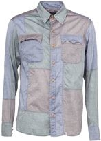 Kolor panelled shirt - men - Cotton - 2