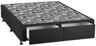 SleepMaker Opus Foot End Drawer Fabric Base Midnight Navy
