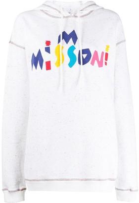 M Missoni Stitched Detail Hoodie