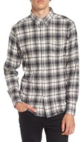 Naked & Famous Denim Men's Regular Fit Plaid Flannel Sport Shirt