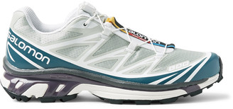 Salomon S/lab Xt-6 Adv Mesh And Rubber Running Shoes