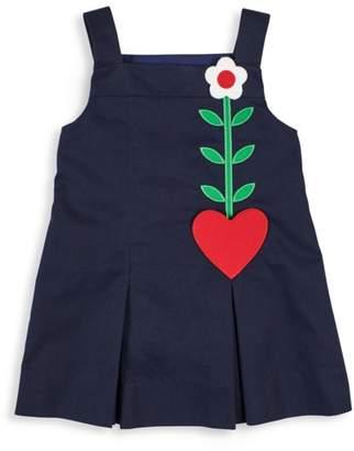 Florence Eiseman Baby's & Little Girl's Flower Heart Cotton Twill Dress