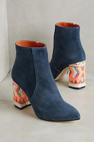 BAMS Ely Sequined-Heel Boots