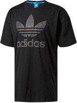 adidas Men's Reveal Treifoil Cotton T-Shirt