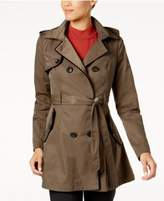 Laundry by Shelli Segal Corset-Back Trench Coat
