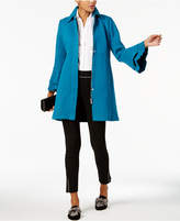 INC International Concepts Ruffled-Sleeve Coat, Created for Macy's