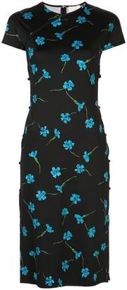 MARCIA Tchikiboum floral print dress