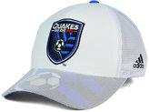 adidas San Jose Earthquakes Goalie Vize Adjustable Cap