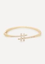 Bebe Hashtag Hinge Bracelet