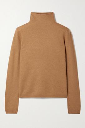Vince Cashmere Turtleneck Sweater - Tan
