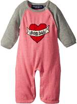 Toobydoo ToobyTattoo Heart Knit Jumpsuit Girl's Jumpsuit & Rompers One Piece