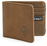 Herschel Men's 'Hank' Leather Bifold Wallet - Brown