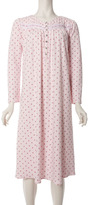 ARIA Floral Printed Long-Sleeve Nightgown