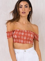 Somedays Lovin Heart Of A Fighter Crop Top