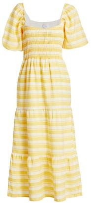 Faithfull The Brand Gianna Midi Dress