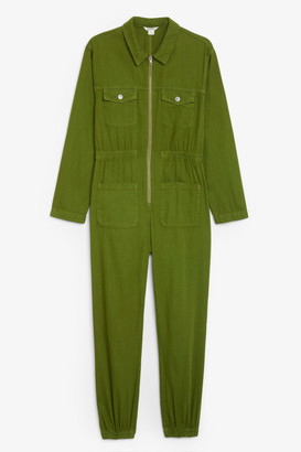 Monki Denim boilersuit