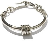 Thumbnail for your product : Tohum Dunya Apia Sterling Silver-plated Bangle - Silver