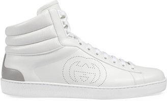 Gucci Men's high-top Ace sneaker