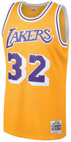 Mitchell & Ness Men's Magic Johnson Los Angeles Lakers Hardwood Classic Swingman Jersey