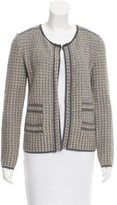M Missoni Textured Open Front Cardigan