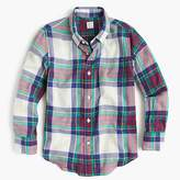 J.Crew Kids' flannel shirt in multiplaid