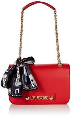 Love Moschino Borsa Small Grain Pu, Women's Cross-Body Bag,18x28x6 cm (W x H L)