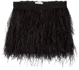 Milly Minis Feather Skirt (Toddler & Little Girls)