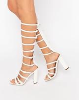 Asos HOTFOOT Heeled Sandals