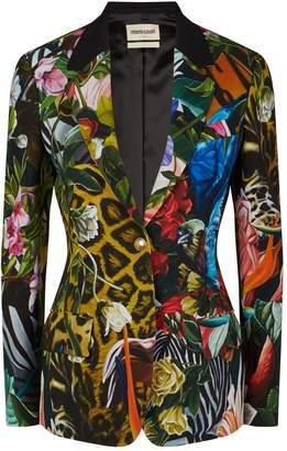 Roberto Cavalli Abstract Print Blazer