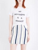 Prabal Gurung My boyfriend is a feminist jersey T-shirt