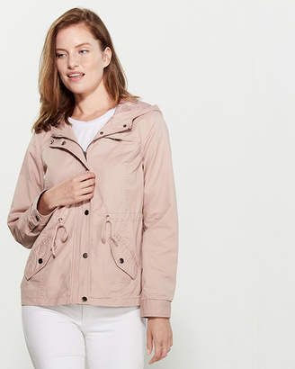 Outer Edge Hooded Pocketed Anorak